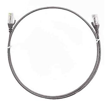 8Ware Cat6 Ultra Thin Slim Cable 1M Grey