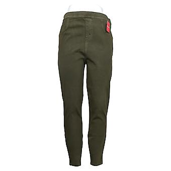 Spanx Leggings Jean-ish Ankle Length Green A368975
