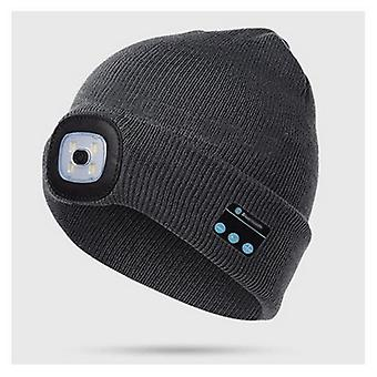 Warme Mütze Bluetooth Led Hut, Wireless Smart Cap, Headset Kopfhörer-Lautsprecher