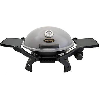 FengChun Grill Tischgasgrill Tischgrill Gas Crosby, Camping Grill, 3,4 KW Brenner, Outdoor