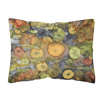 Caroline's Treasures Abstract con cuscino decorativo in tessuto Madre Terra, 12 x 16, multicolore