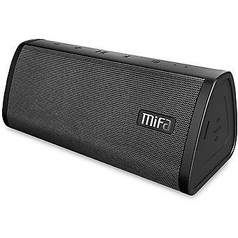 10W Bluetooth динамик, MIFA A10 Портативный динамик Bluetooth 4.2, технология TWS & DSP, IP45 Водонепроницаемый и пыленепроницаемый, 3,5-мм аудиовход, порт Micro SD и встроенный микрофон (черный)