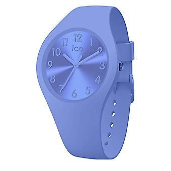 Ice-Watch - Ice Colour Lotus - Naisten kello silikonihihnalla - 017913, Pieni, Sininen