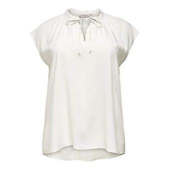 ONLY Carmakoma CARPINTA SL Top Ess T-Shirt, Cloud Dancer, 42 Woman