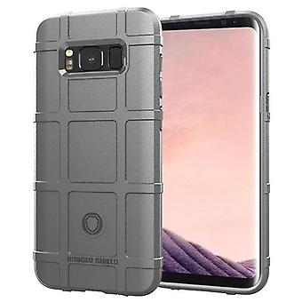 Tpu carbon fibre case for samsung s8 lite grey mfkj-1124