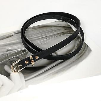 Women High Quality Soft Pu Leather Snake Belt