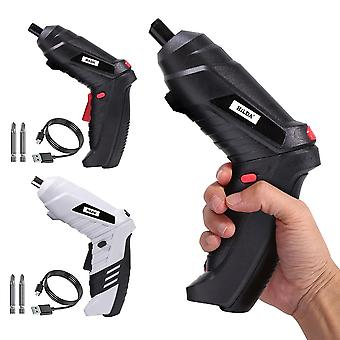 Electric Screwdriver Rechargeable Cordless Power Drill Kit