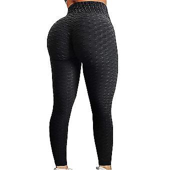 Women high waist yoga pants tummy control slimming booty leggings workout running butt lift tights pl-1029