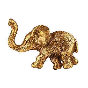 Sass - Belle Guld Elefant Skuffe Knop