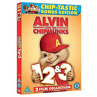 Alvin and the Chipmunks 1-3 DVD