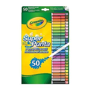 Set of Felt Tip Pens Crayola (50 uds)