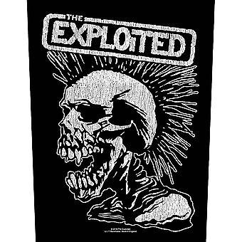 L'Exploité - Vintage Skull Back Patch