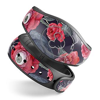 Abstract Roses With Eyes - Full Body Skin Decal Wrap Kit For Disney