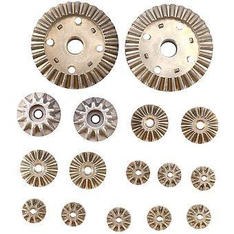 12T 24t 30t moottorin ajovaihde metallinen takapyörästön korjausosat wltoys 12428 12423 12429 1/12 rc auto