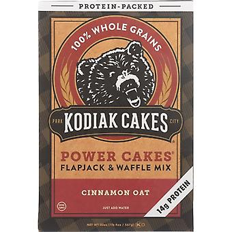 Kodiak Mix Flpjck Pwr Cinn Oat, Case of 6 X 20 Oz