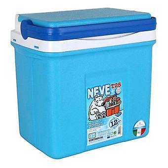 ثلاجة محمولة 25 لتر أزرق (38 × 26 × 39 سم)