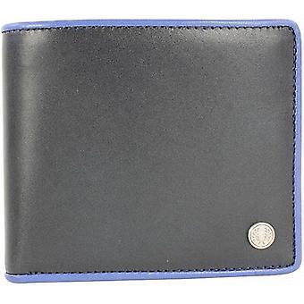 Fred Perry Contraste Con punta Billfold cartera de cuero para hombres -- L7315-608
