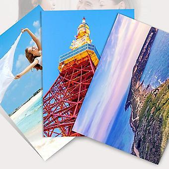 Carta fotografica 4r lucida di alta qualità per stampanti a getto d'inchiostro
