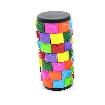 Farve Børns intellektuelle Creative Magic Tower Cube legetøj (L)