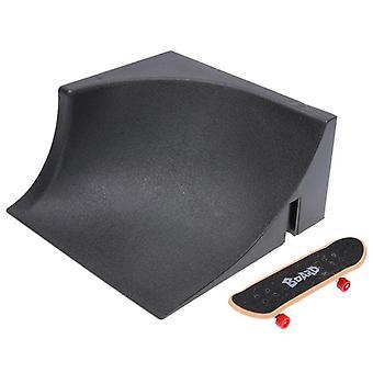 Jogos de treinamento tabuleiro de patinação de dedo com pista de peças de rampa, crianças, parque