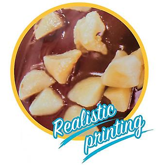 Inflatable Swim Donut Ring Tube Float - Nutty Chocolate
