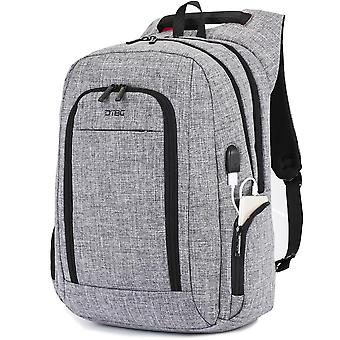 Laptop Backpack, Durable Travel Business Backpack With Usb Charging Port Anti-theft Pocket