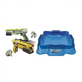 Blasters led spinnere legetøj