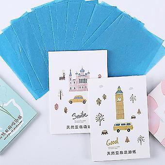 315new Бренд 100 листов / упаковка Папиросная бумага Макияж Очищающее масло Впитывающее лицо