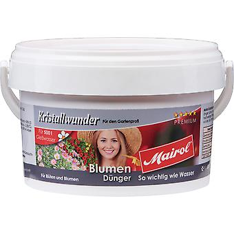 MAIROL Flowers Fertilizer Crystal, 500 g, Crystal Miracle