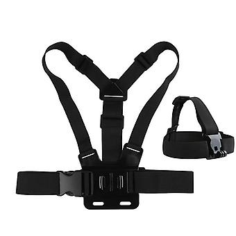 Adjustable Harness Chest And Head Strap Belt
