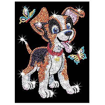 Sequin Art Sequin Oscar The Puppy Junior