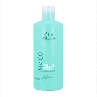 Masque pour Cheveux Fins Invigo Volume Boost Crystal Wella (500 ml)