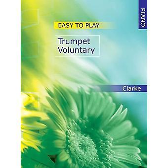 Lättspelad trumpet frivillig för piano