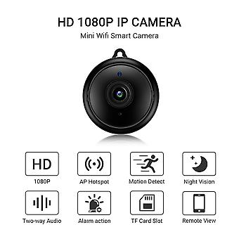 Mini Wifi Ip Camera Hd 1080p Wireless Indoor Camera Nightvision Two Way Audio Motion Detection Baby Monitor
