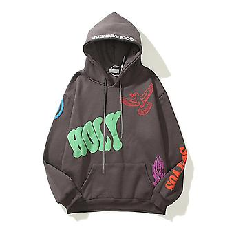 Kanye Hip Hop Hooded Sweatshirts Pullover Hoodies