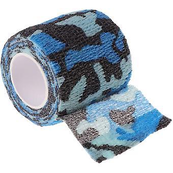 Tattoo Selbstklebende Vlies Elastische Bandage Grip Marine Camouflage