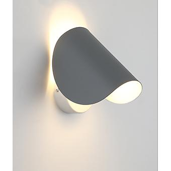 Wall Light Creative Led Bedside Wall Light Indoor Hotel Aisle Hallway Staircase Living Room Background Wall Light  Gray, 5w, Cold White Light  16.5 *