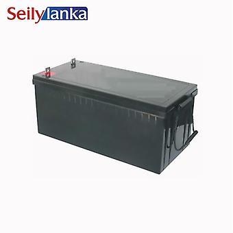 12v 200ah batterij verzegelde opslag batterijen lood zuur oplaadbare hoge capaciteit voor zonnestelsel monitor noodlicht