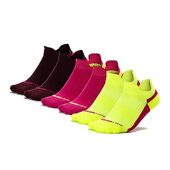 Higher State Freedom Women's Running Socklet (paquete de 6) - AW21