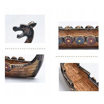 Support d'encens Stand Viking Boat Ship