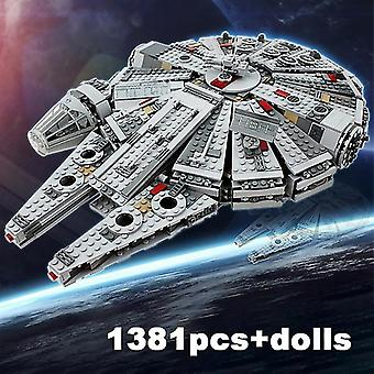 Qian Millennium Eclipse Class Star Falcon Wars Tie Fighter Model Building Blocks
