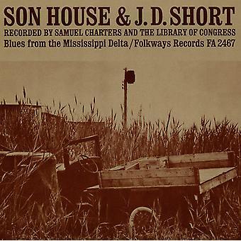 J.D. kort & Son House - J.D. kort & Son House: Blues från Mississippi [CD] USA import