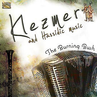 Burning Bush - Klezmer & Hassidic Music [CD] USA import