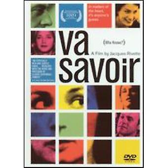 Va Savoir [DVD] USA import