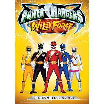 Power Rangers: Wild Force - the Complete Series [DVD] USA import