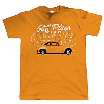 Joue toujours avec des voitures Mk1 Escort Mens T Shirt, cadeau pour lui papa