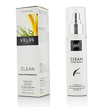 Veld's Clean Makeup Remover Oil - 100ml/3.4oz
