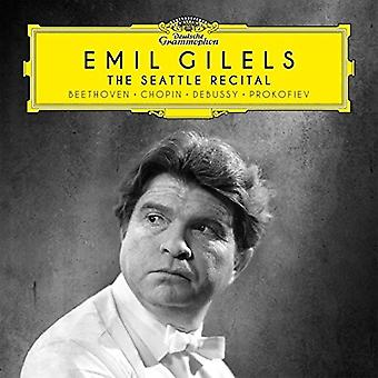 Emil Gilels - The Seattle Recital [CD] USA import