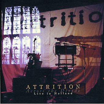 Attrition - Across the Divide-Live in Holland [CD] USA import