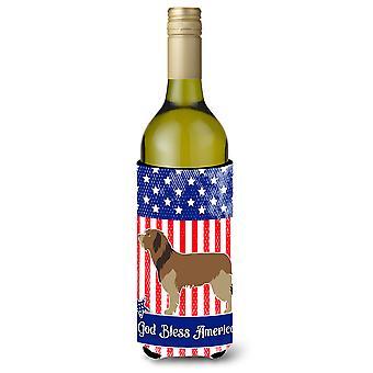 Katalanischer Schäferhund American Weinflasche Beverge Isolator Hugger